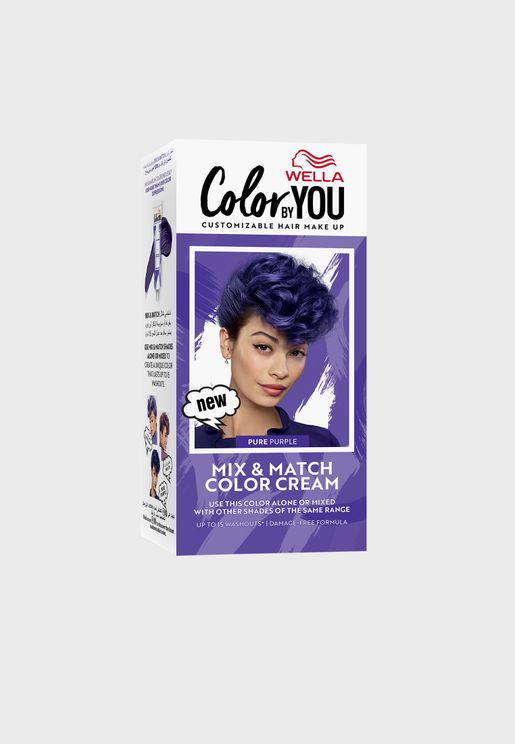 Mix & Match Hair Color Cream Pure Purple