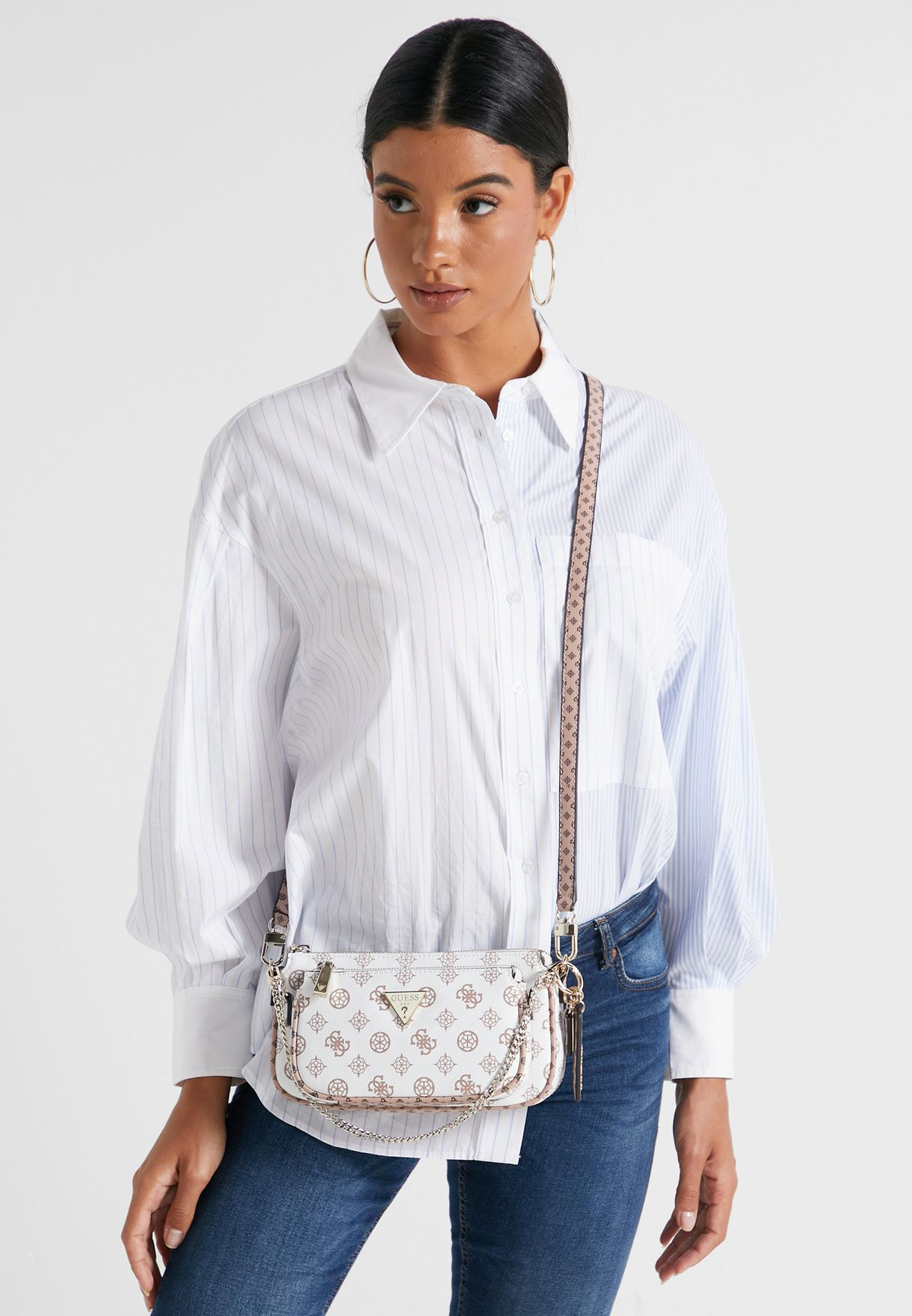 Arie Double Pouch Crossbody