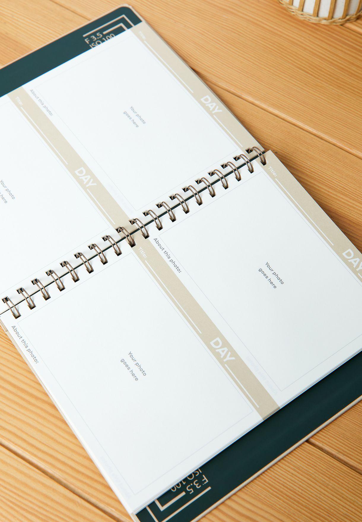 دفتر يوميات كبير