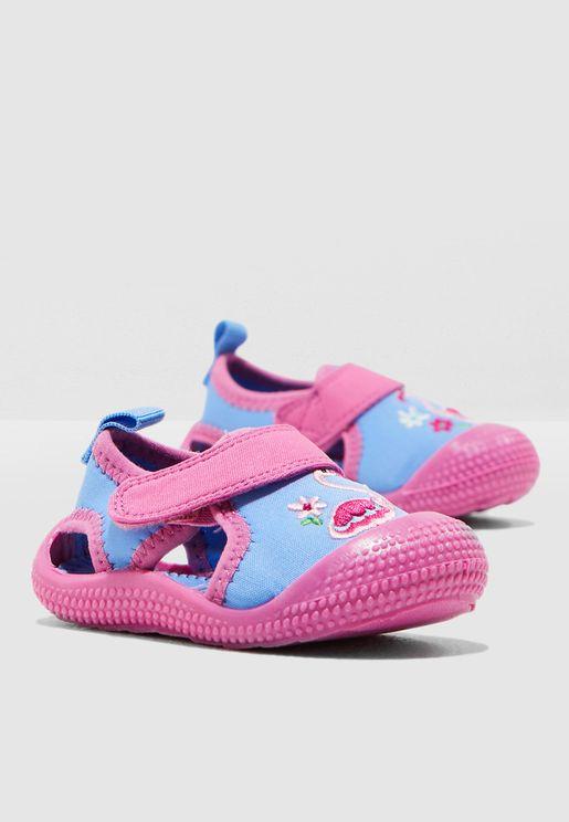 Kids Flamingo Beach Sandal