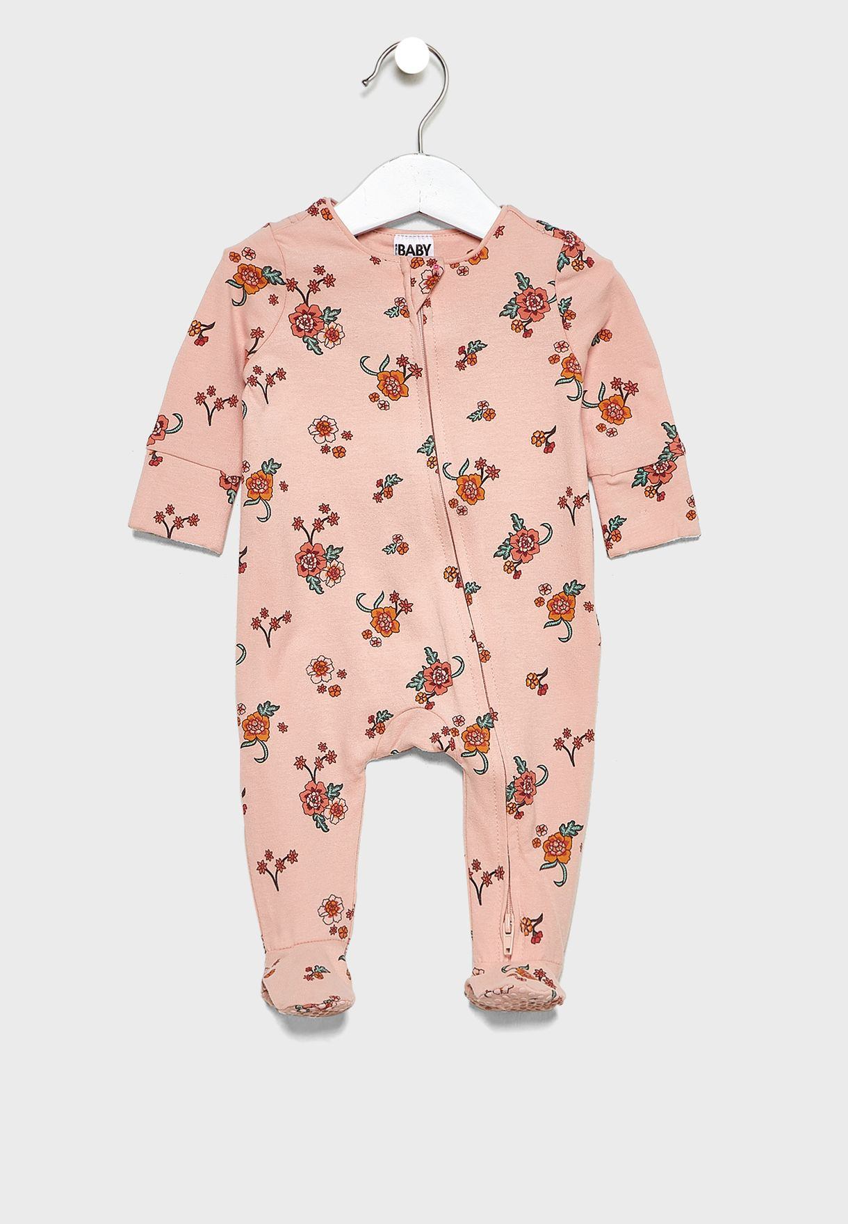 Infant Printed Romper