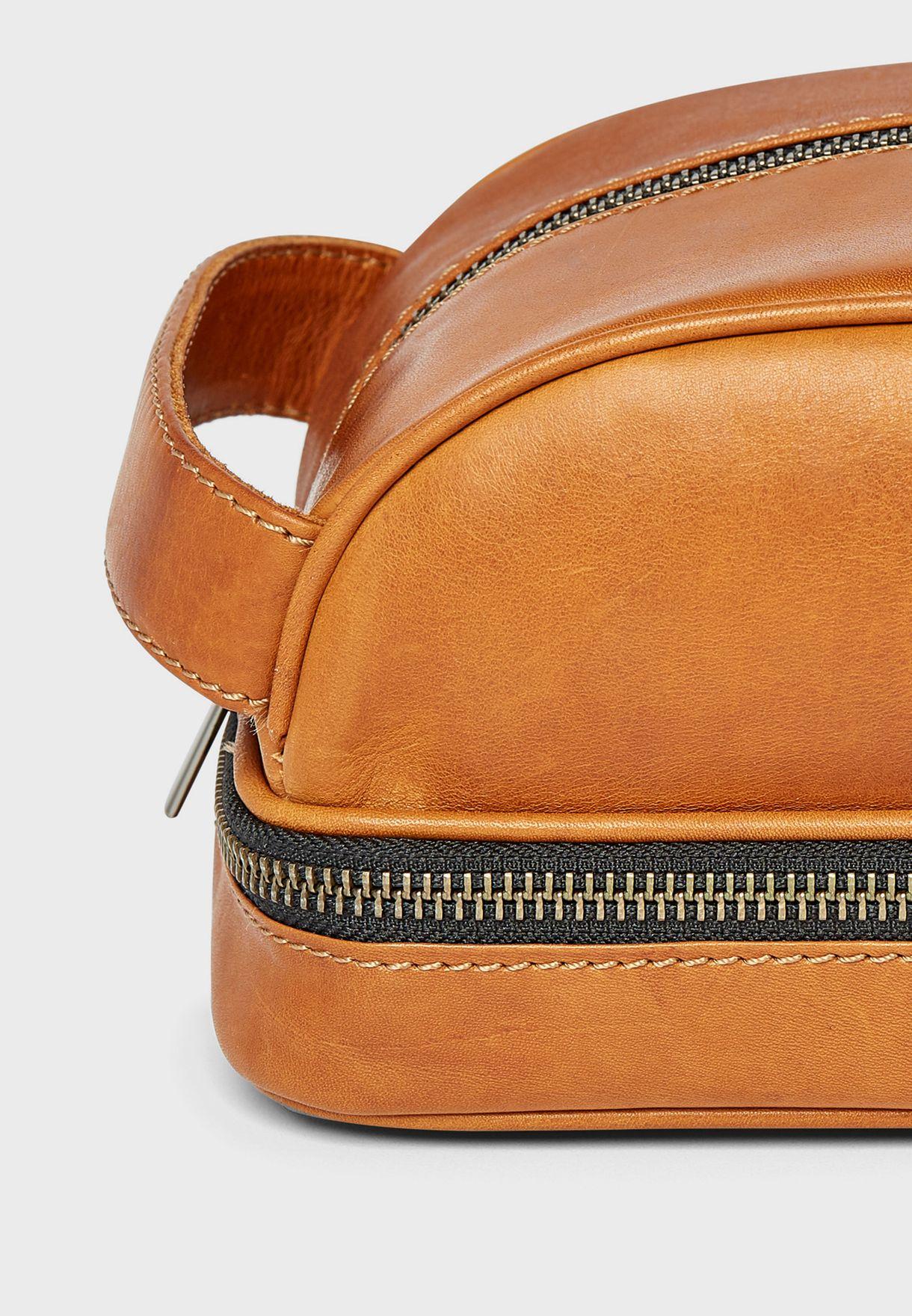Liva Dopp Toiletry Leather Kit