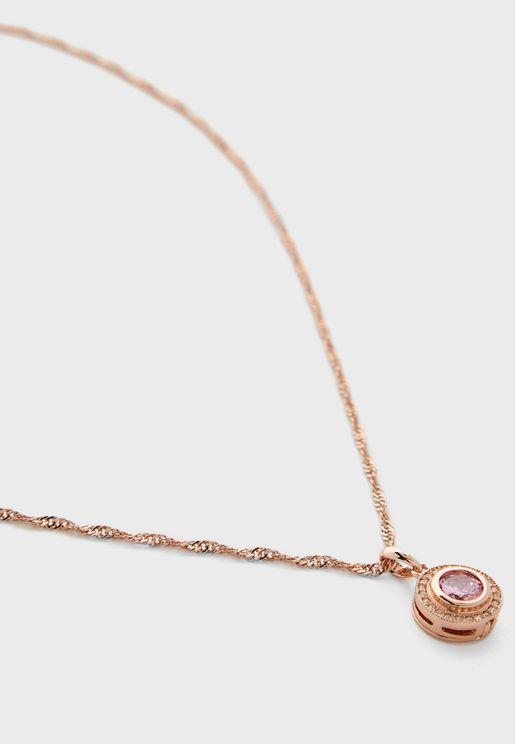 Interchangeable Pendant Necklace