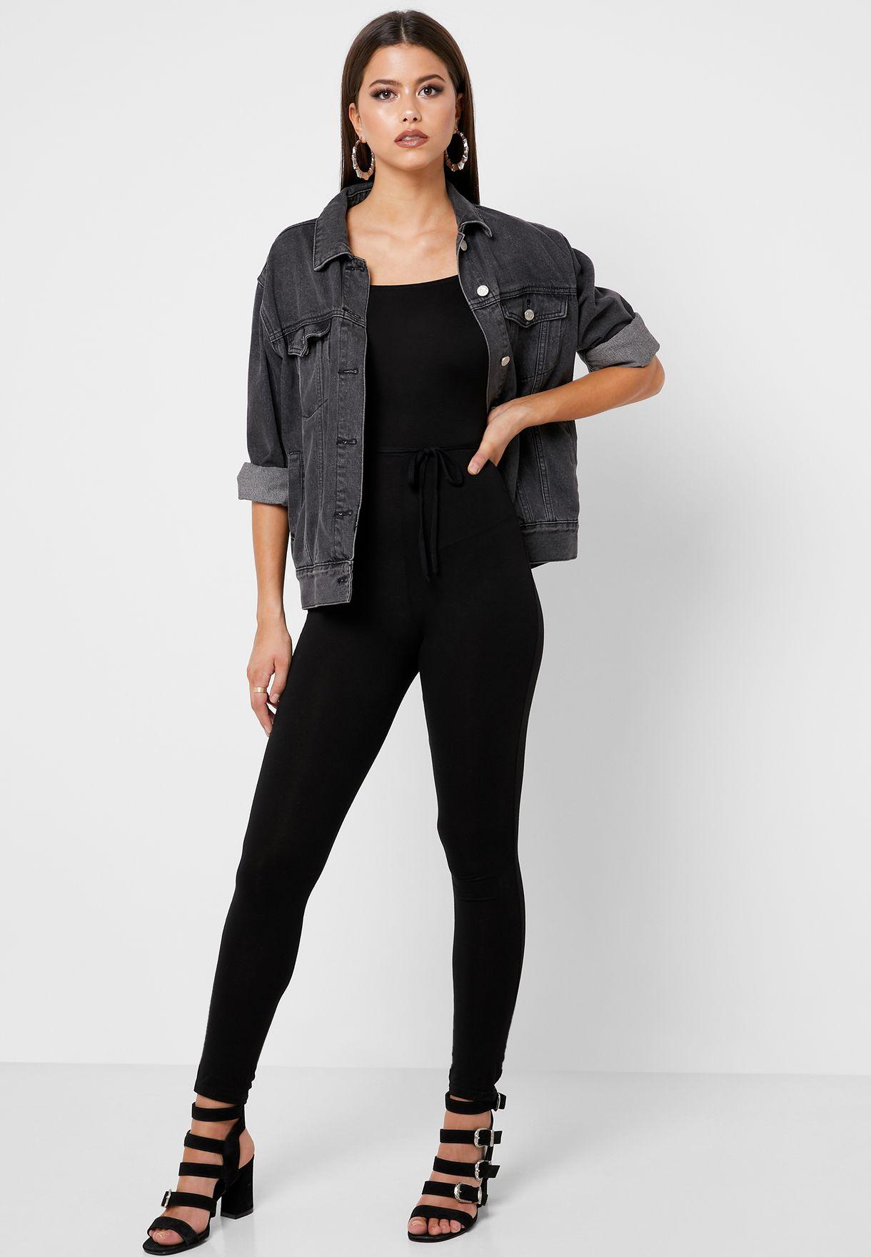 Bardot Belted Jumpsuit