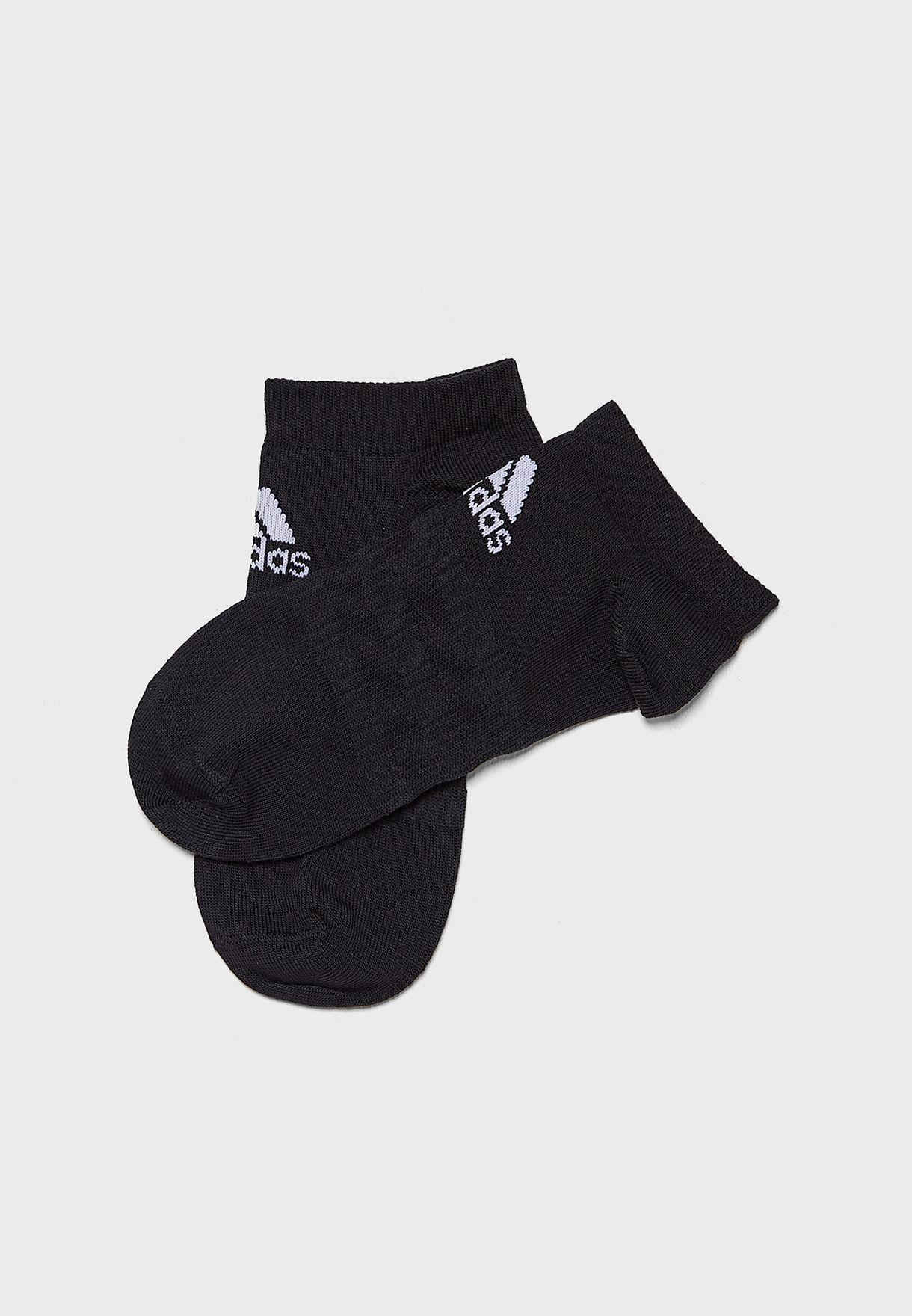 3 Pack Light Essentials Sports Training UnisexNo Show Socks