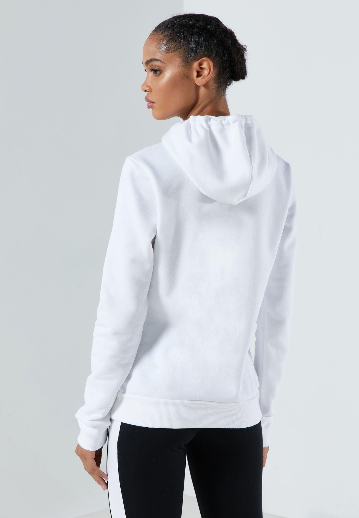 Essential Logo Fleece Hoodie