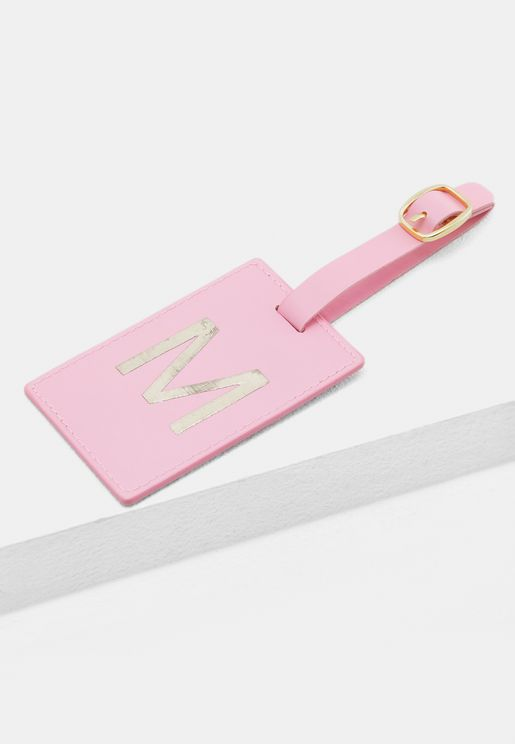 M Monogram Luggage Tag