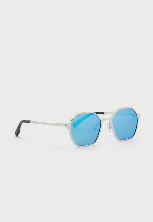 Polarized Classic Hexagon Sunglasses
