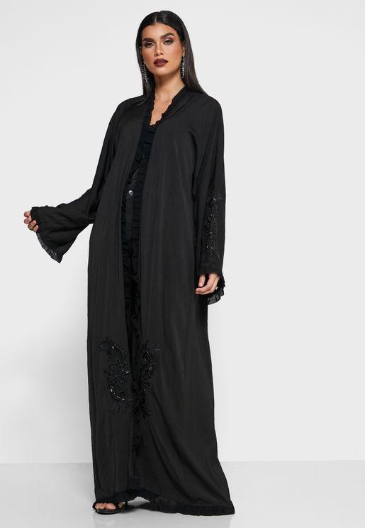 Fringe Detail Abaya