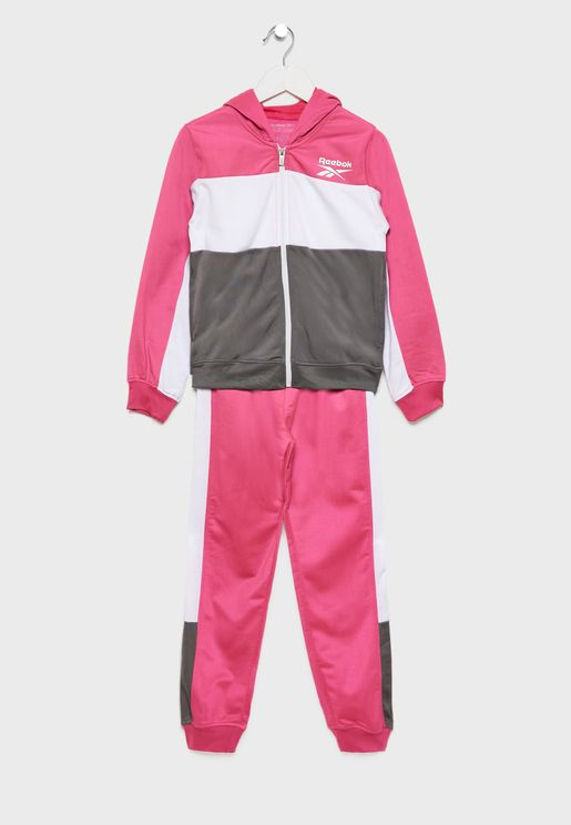 Youth Colour Block Tracksuit