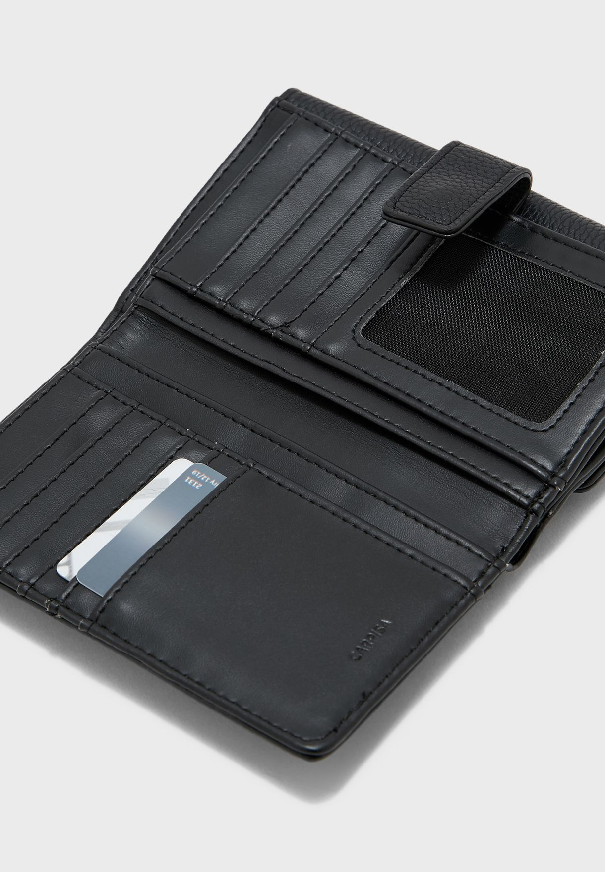 Front Zip Multi Slot Cardholder