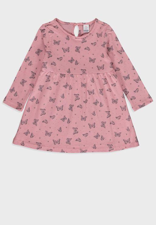 Infant Butterfly Dress