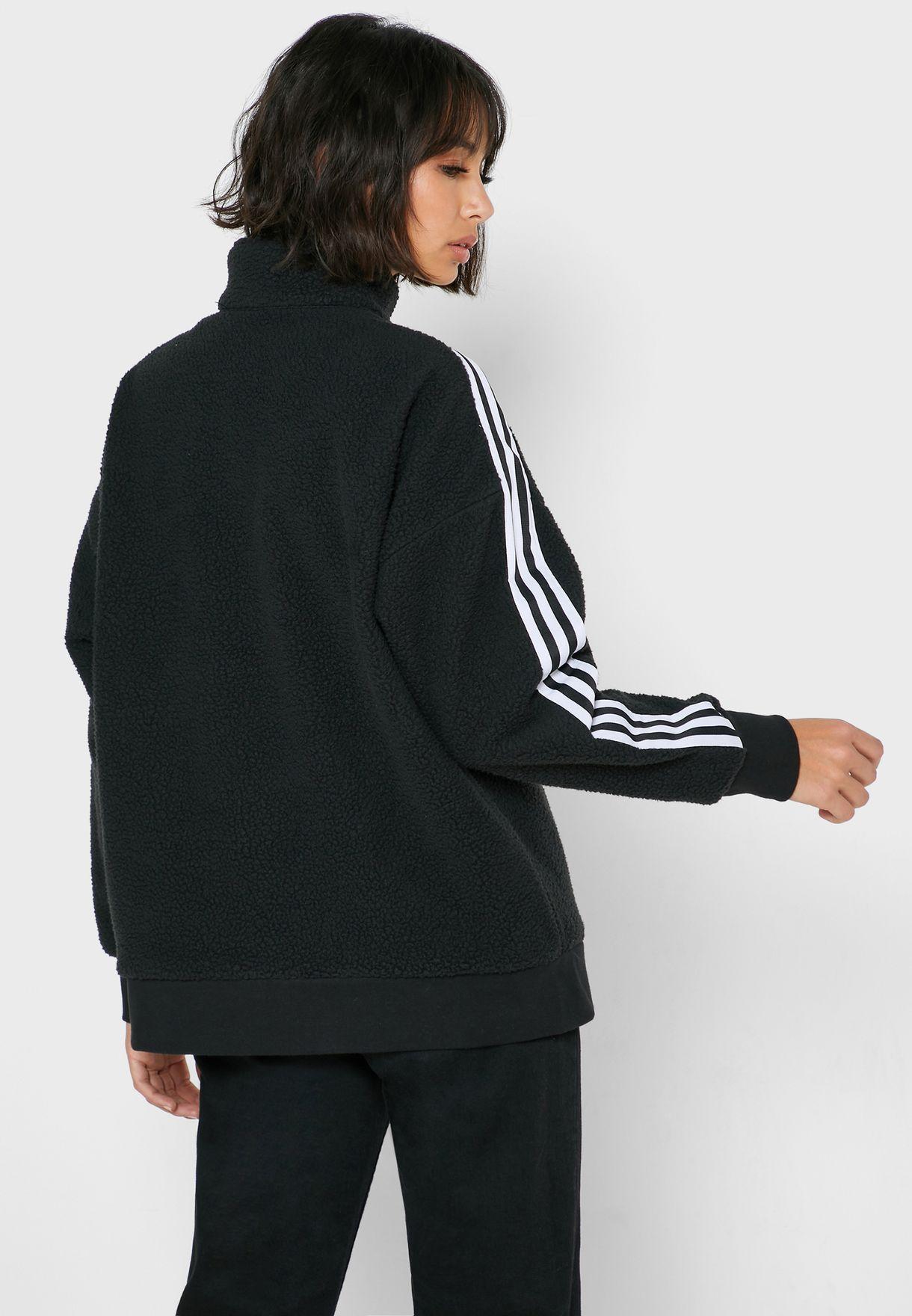 Logo 3 Stripe Sweatshirt