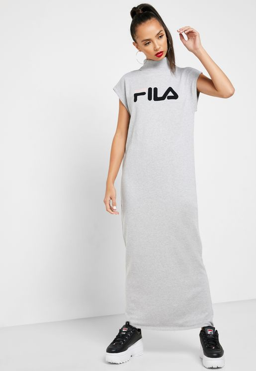 Effy High Neck Dress