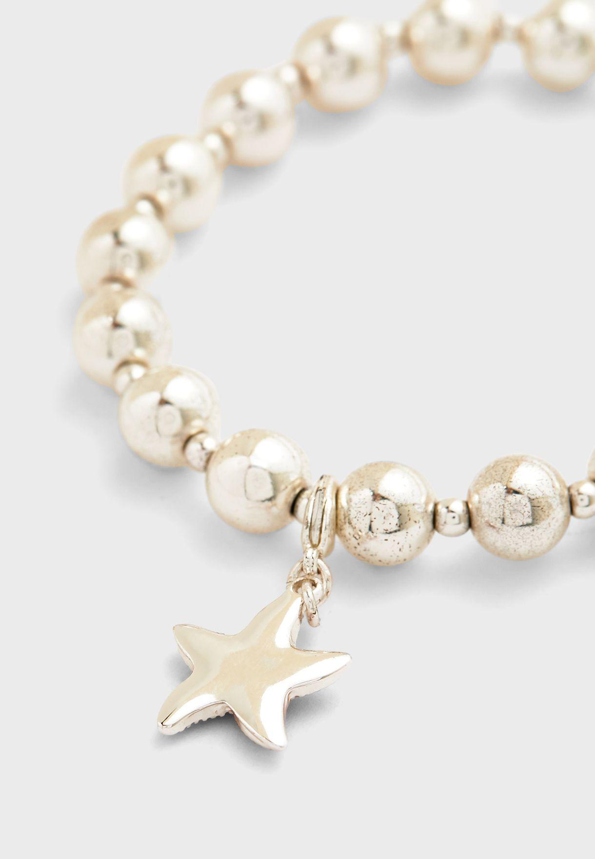 Beaded Starfish Bracelet