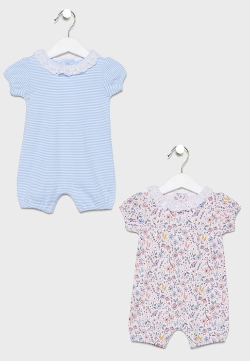 Infant 2 Pack Pretty Romper