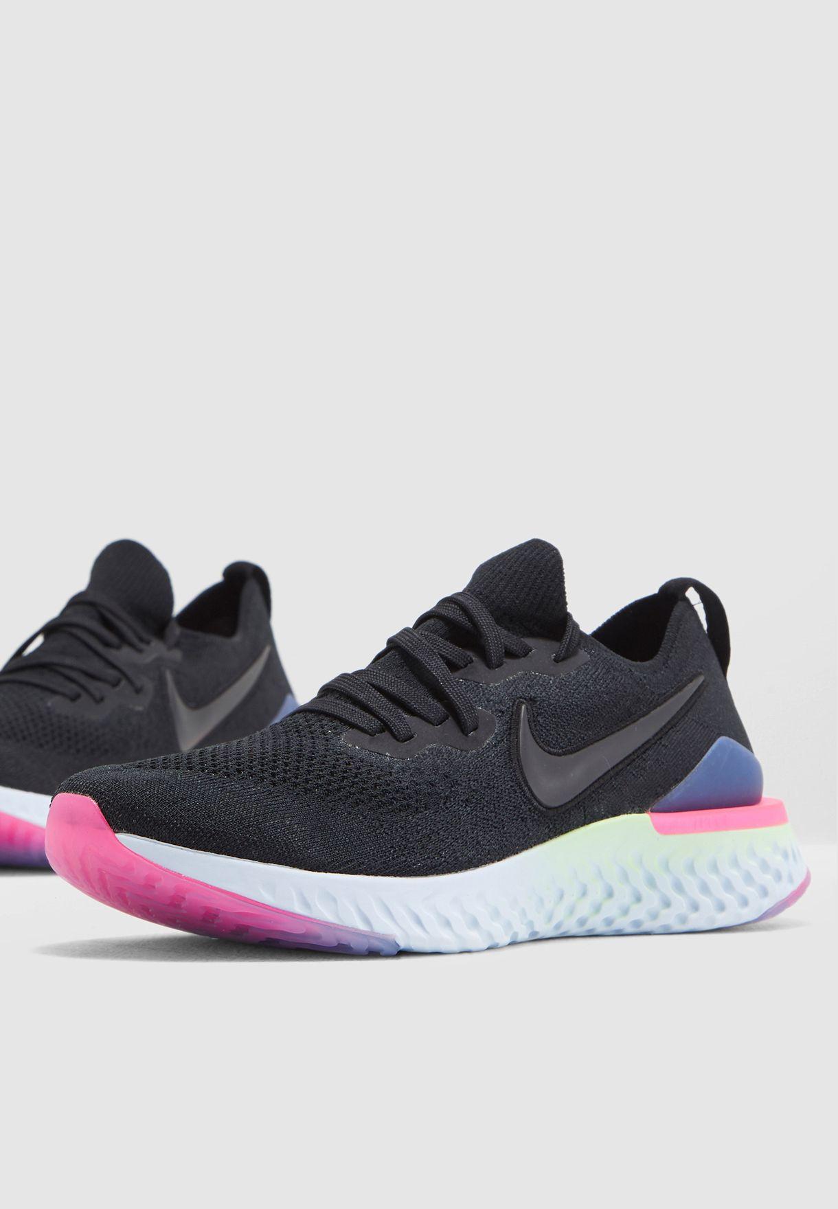 f550d11bd34b Shop Nike black Epic React Flyknit 2 BQ8928-003 for Men in Kuwait -  72704SH23RNP