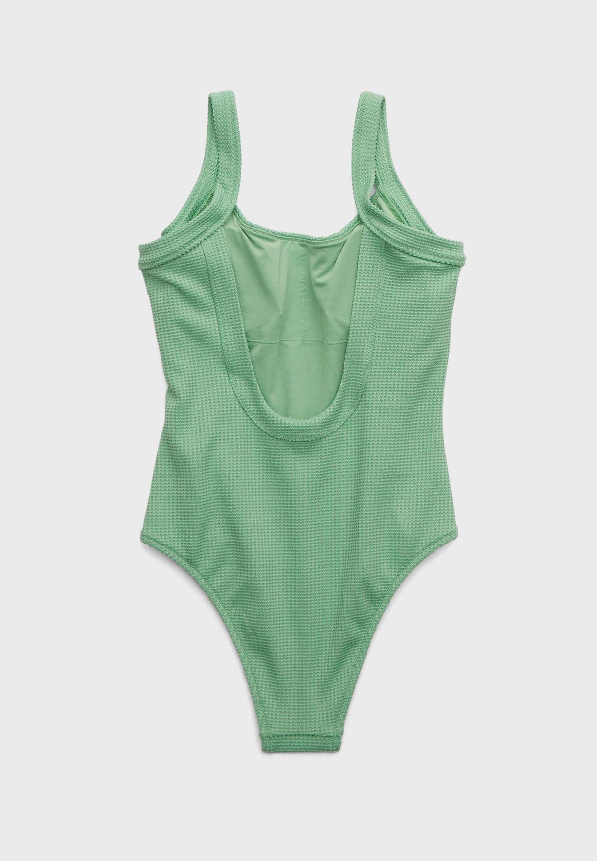 Scoop Neck Swimsuit