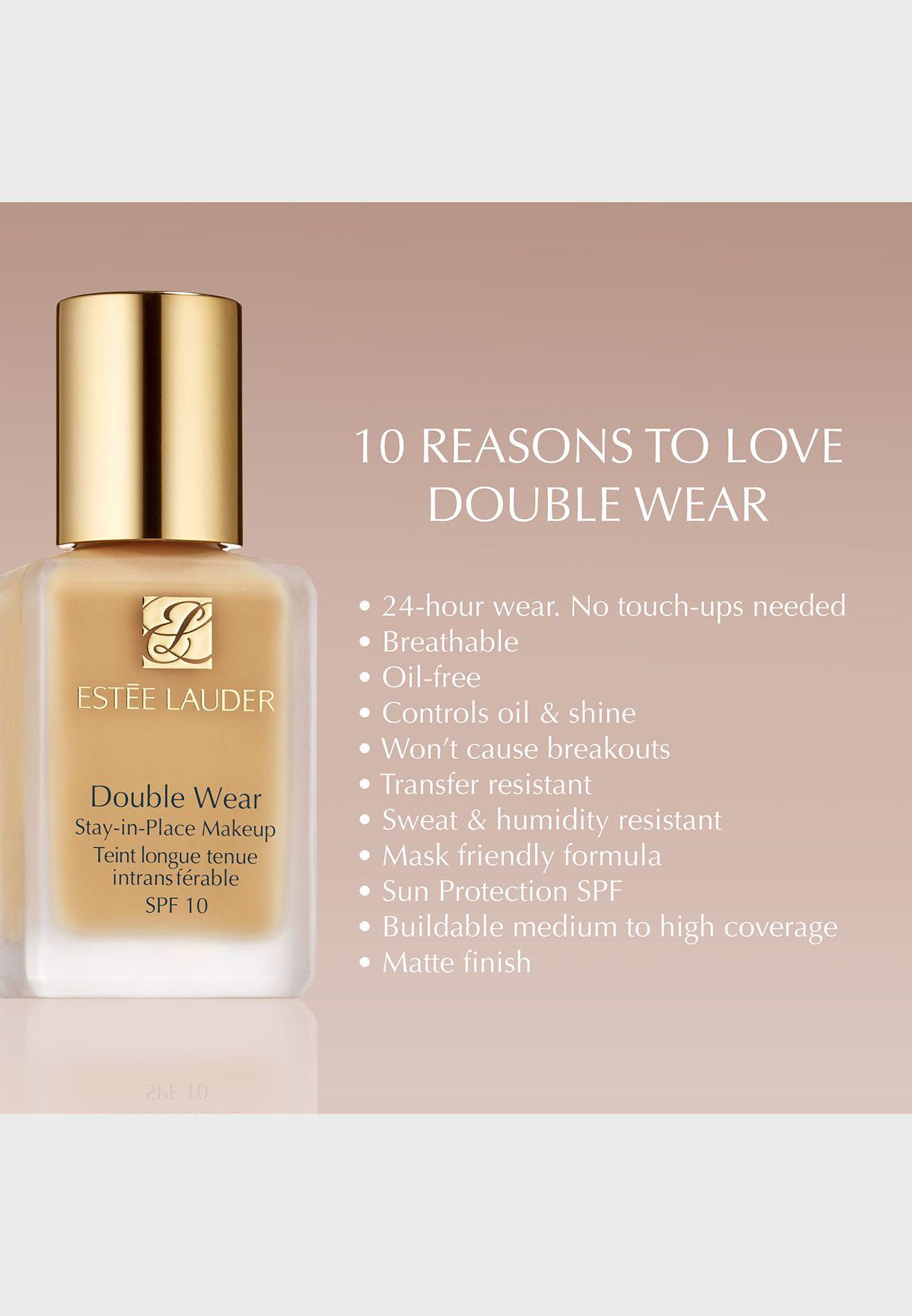 Double Wear Stay In Place Foundation-Dusk