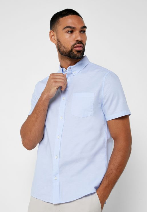 Oxford Pocketed Shirt