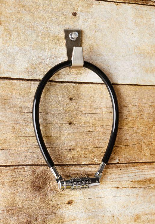Black Mini Bike Lock