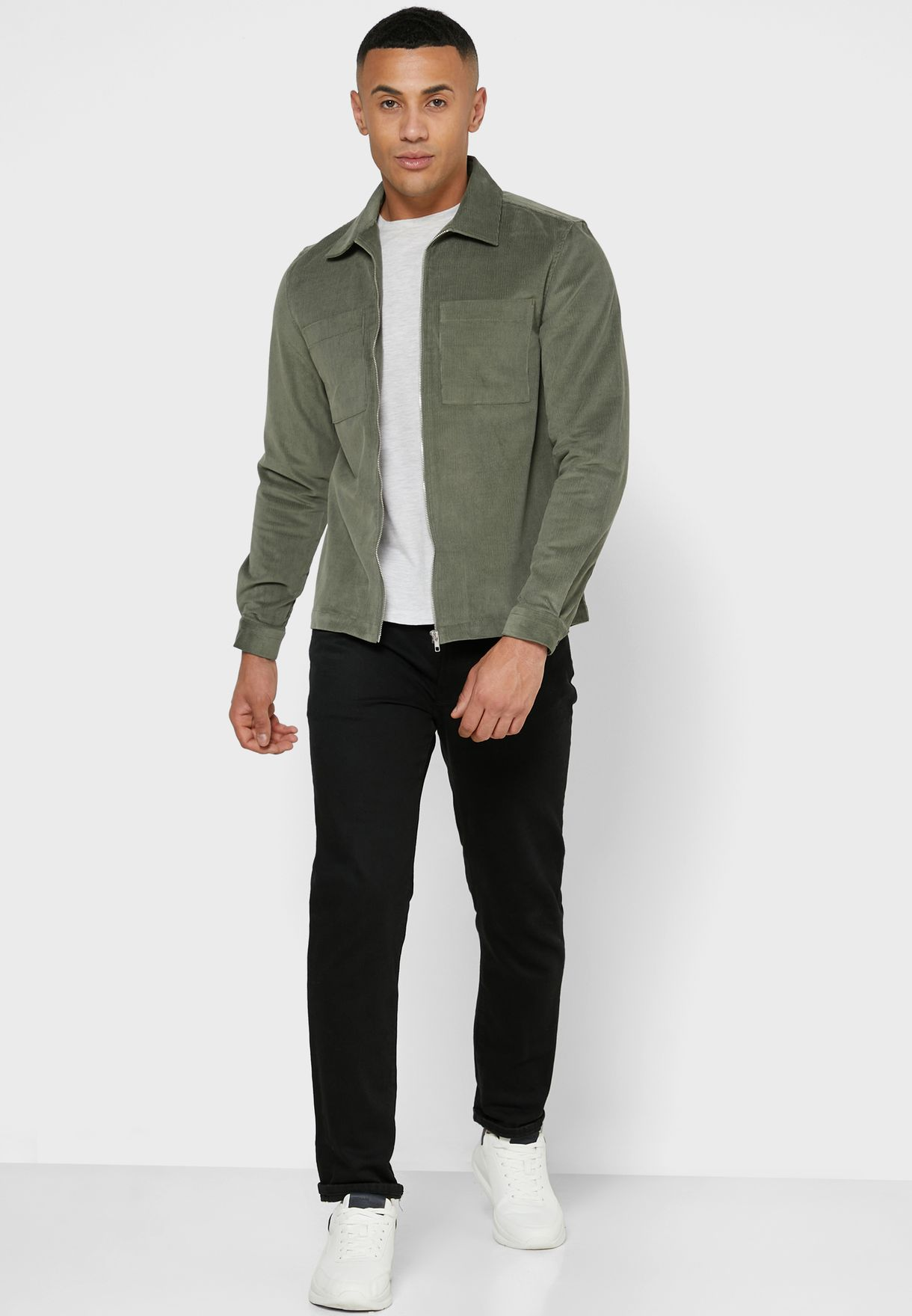 Corduroy Relaxed Shirt