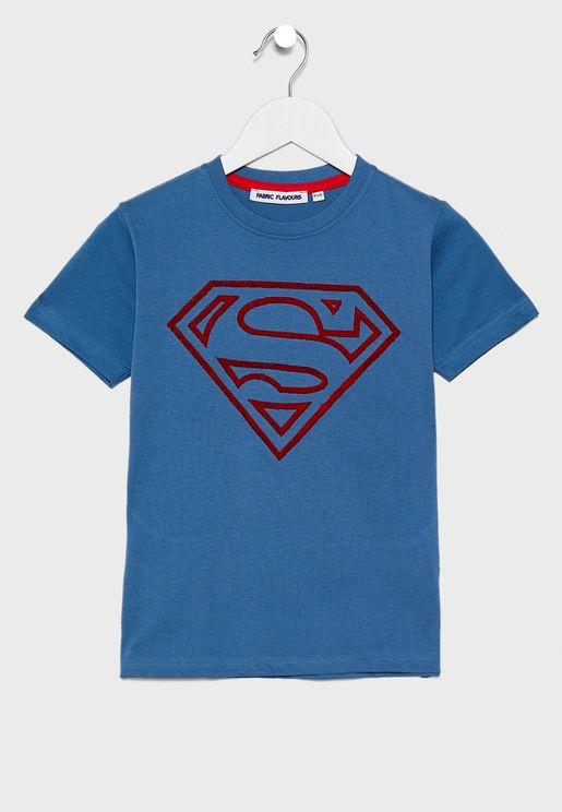 Kids Superman Logo T-Shirt