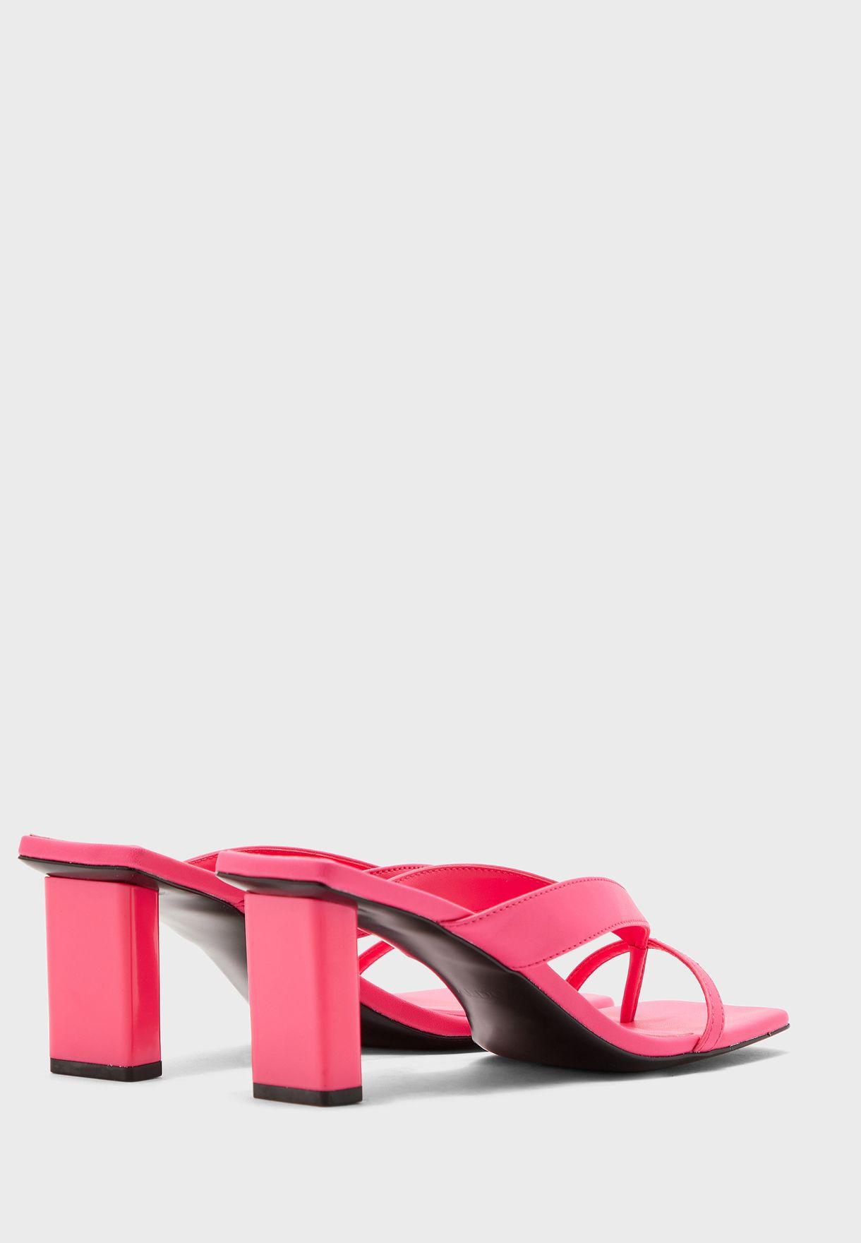 Loretta Low Heel Sandal