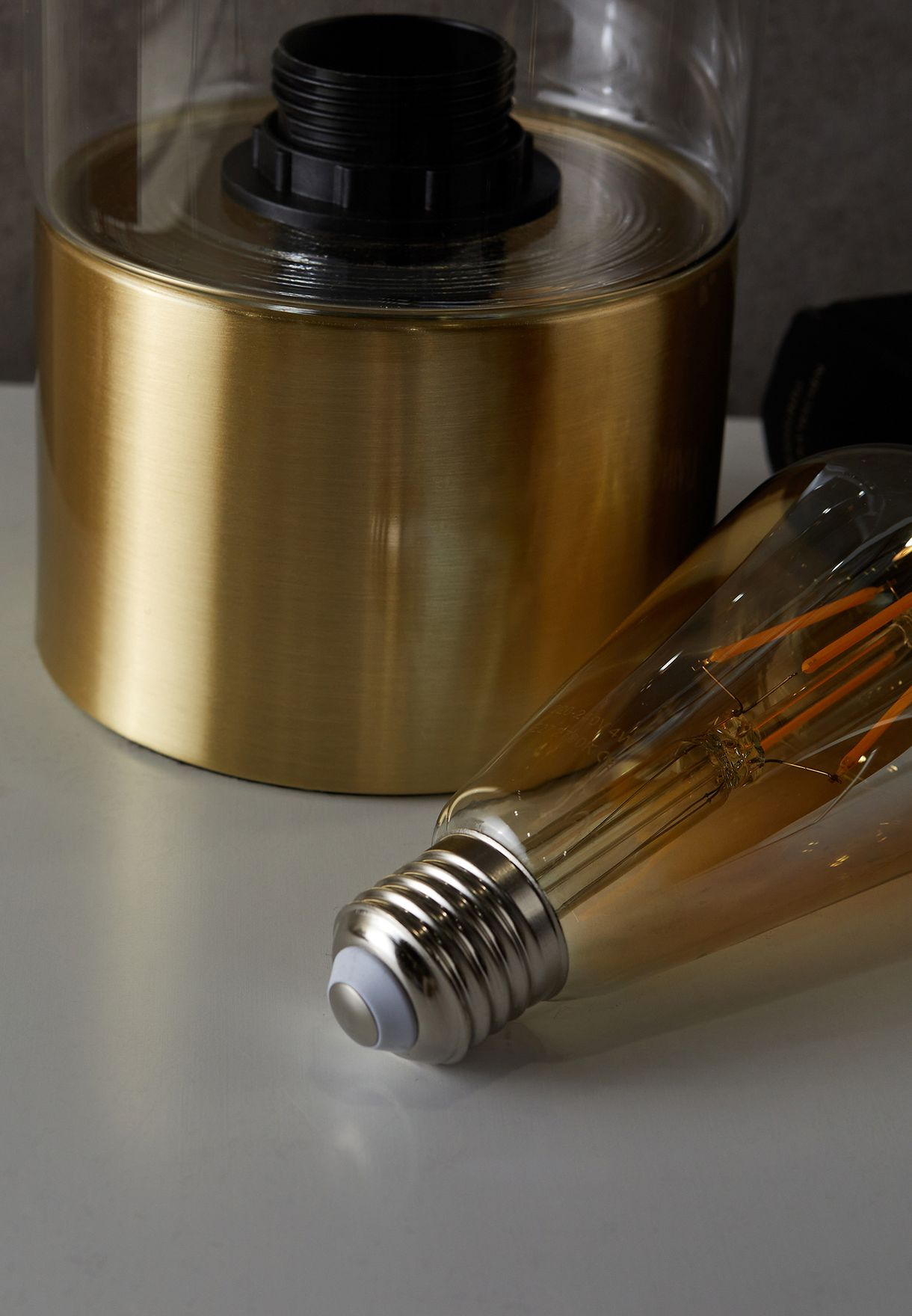 Lax Gold Plated Base Table Lamp