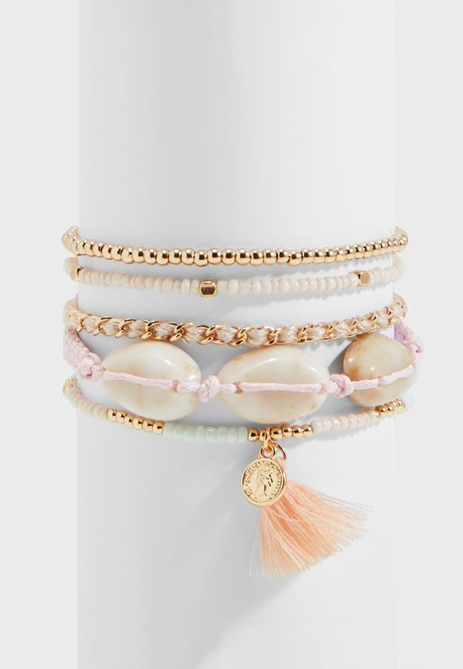 Elvundra Multipack Delicate Bracelet