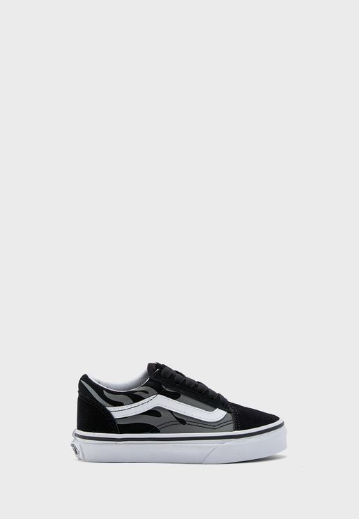 Kids Suede Flame Old Skool