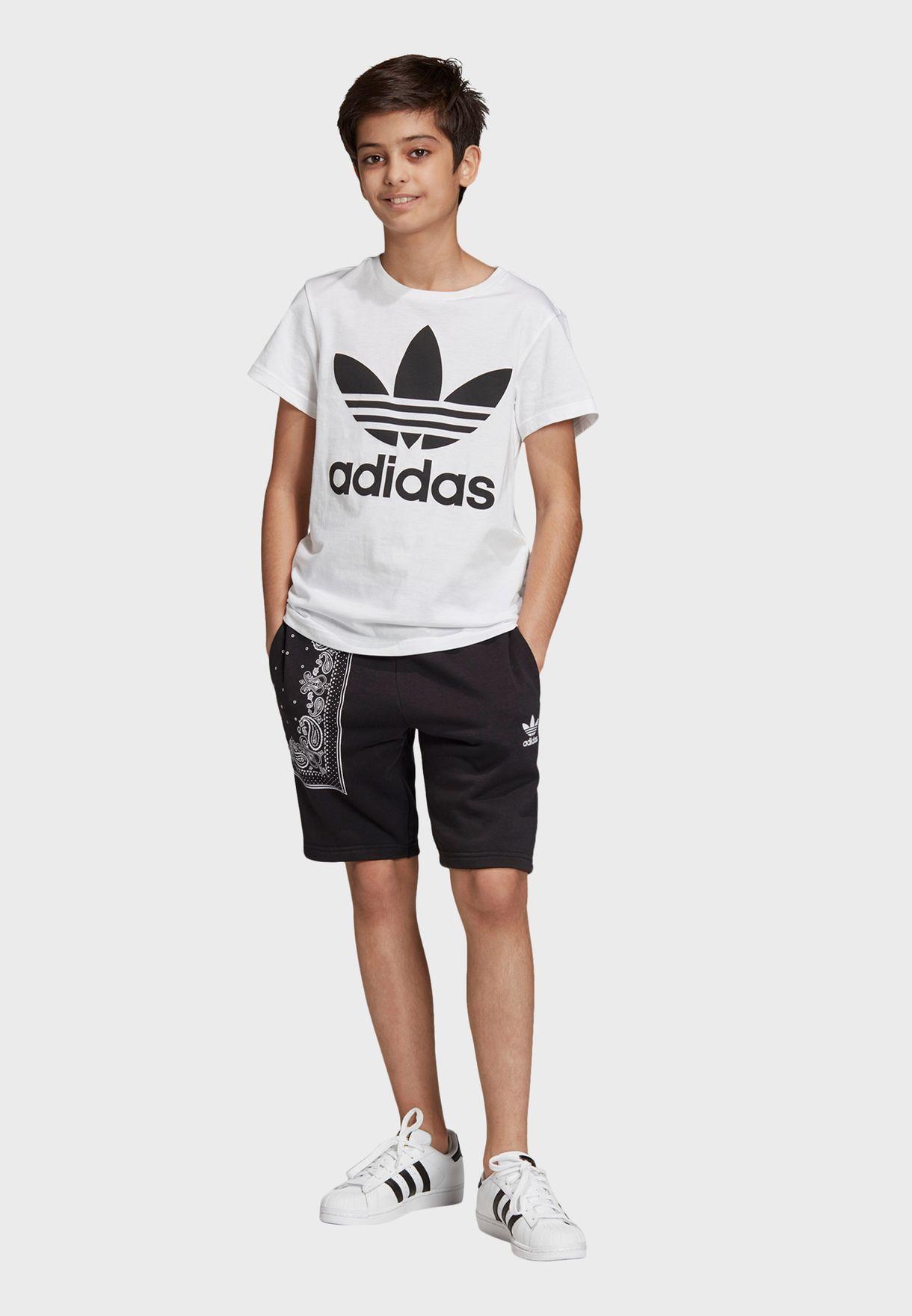 Trefoil Adicolor Casual Unisex T-Shirt