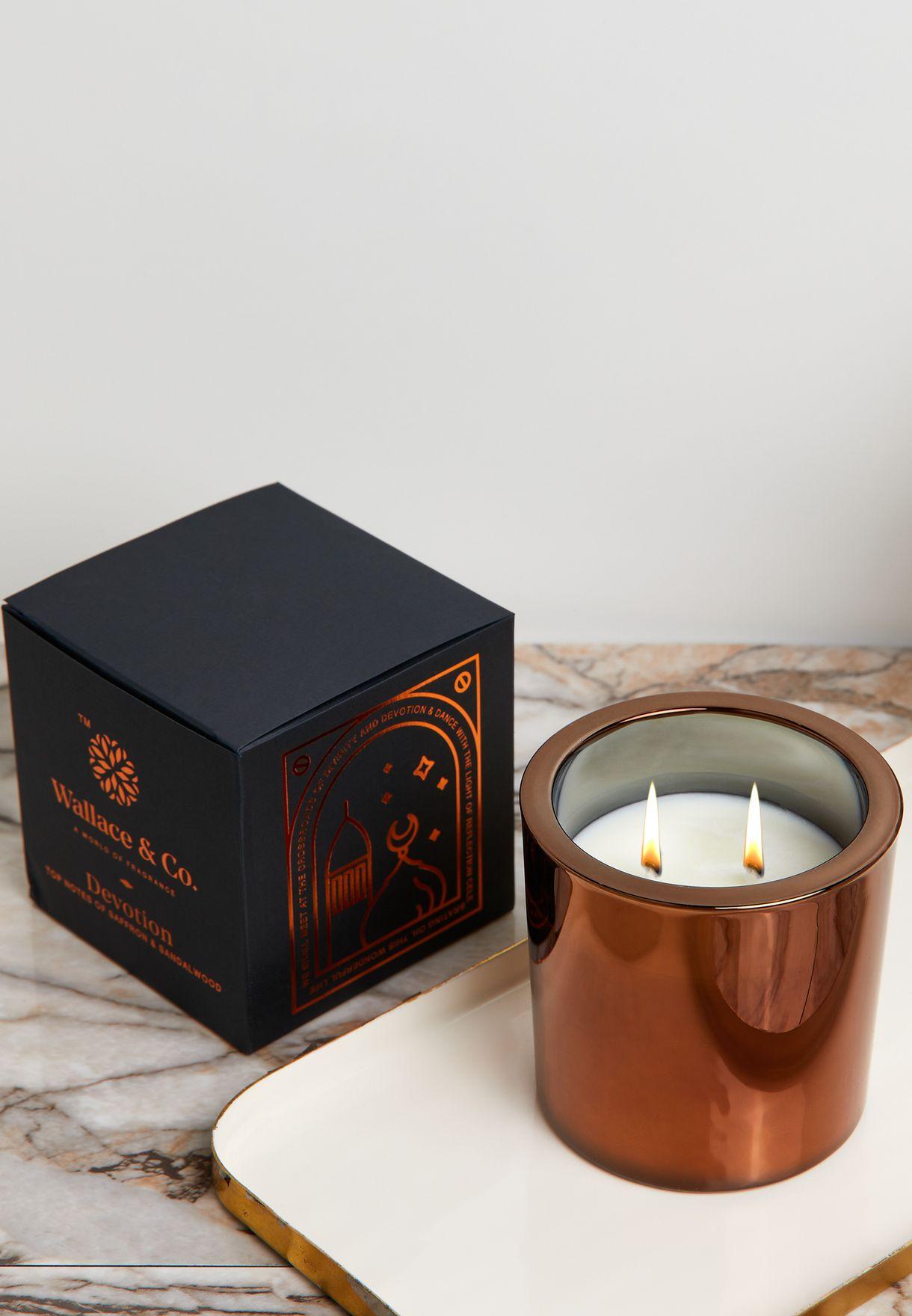 Oudh & Saffron Devotion Candle 360Ml