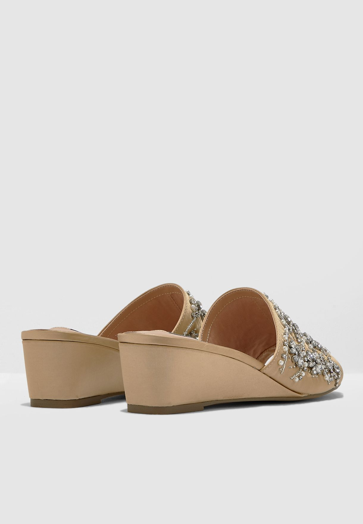Lilly Wedge Sandal - Gold