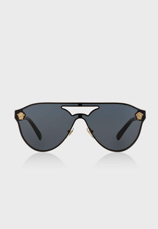 0VE2161 Shield Sunglasses