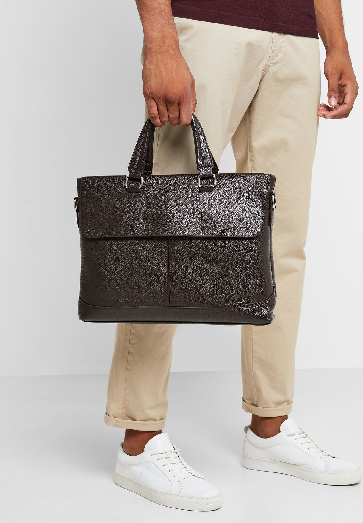 Classic Structured Laptop Bag