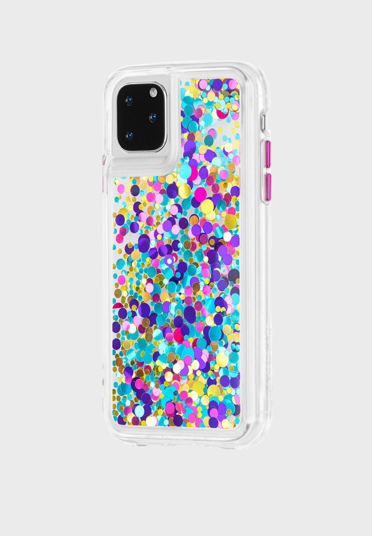 Waterfall Confetti iPhone 11 Pro/11 Pro Max Case