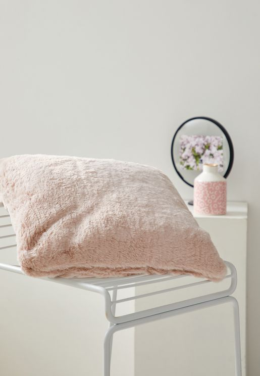 Fluffy Cushion With Insert 45x45 cm