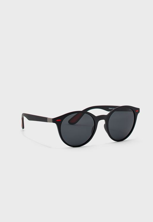 Casual Polarised Round Sunglasses