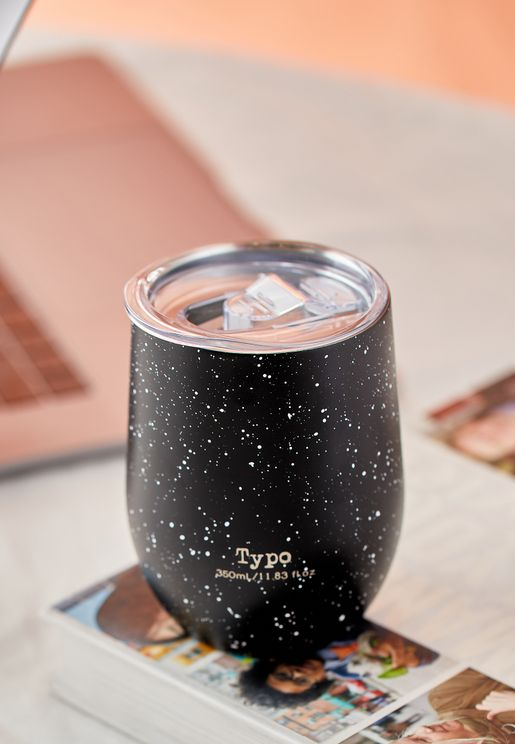 Splatter Travel Tumbler