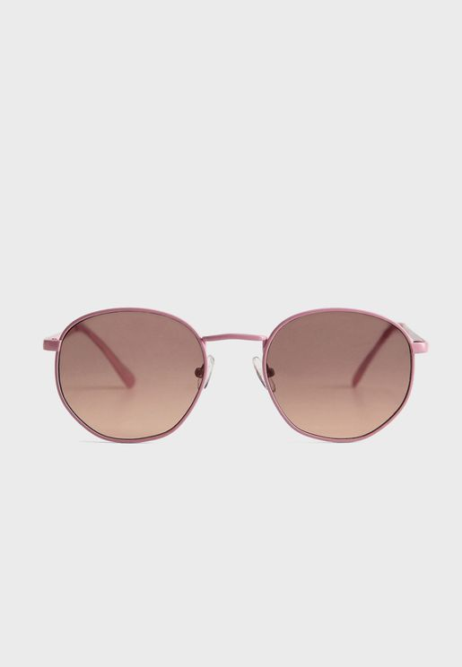 Alexis Rounded Sunglasses
