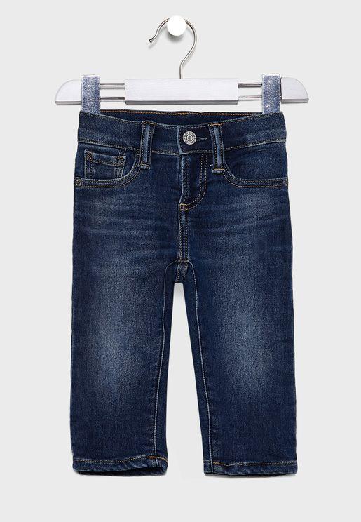 Kids Medium Wash Jeans