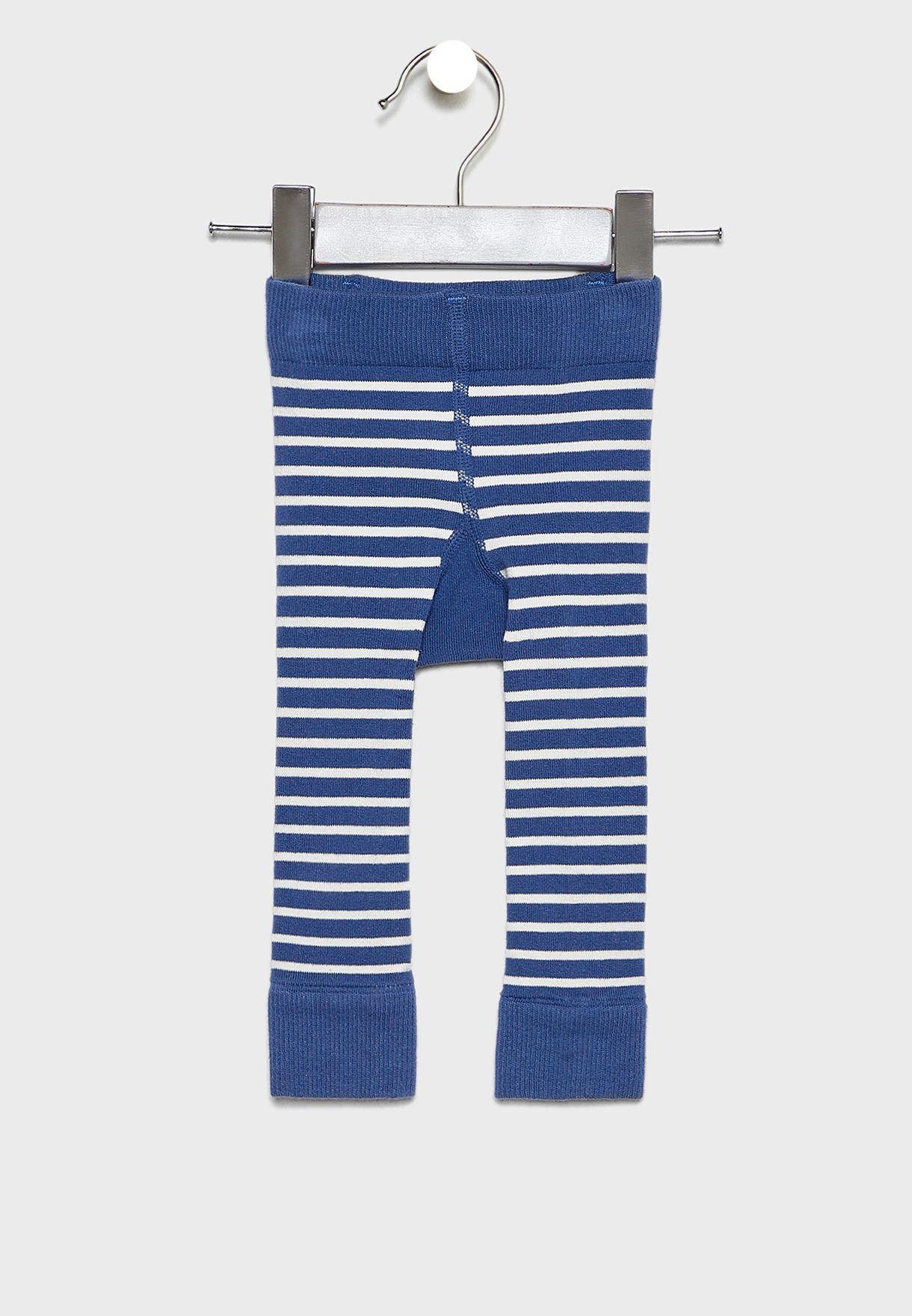 Kids Striped Leggings