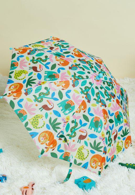 مظلة بطبعات للاطفال
