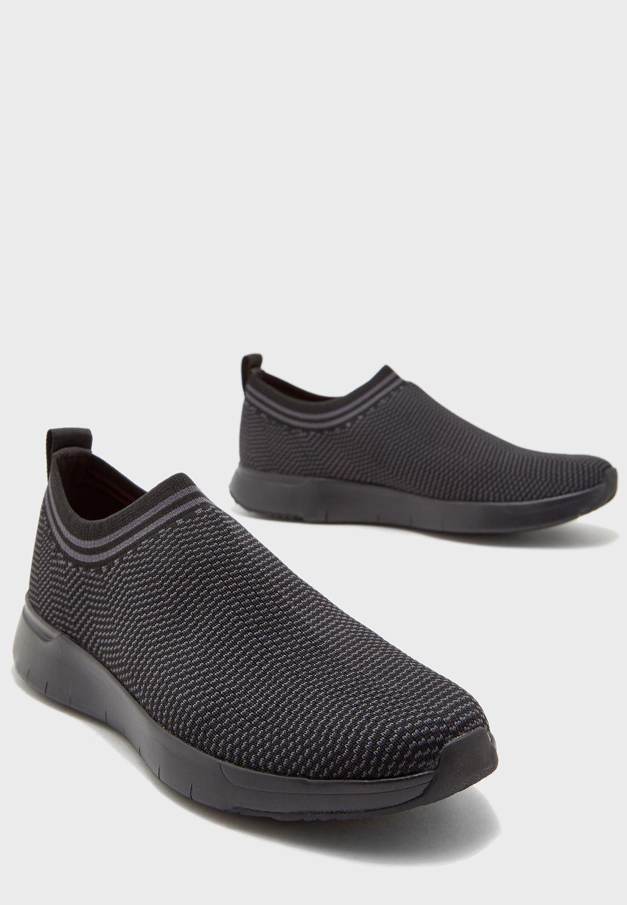 Fitflop black Fineknit Mesh Sneakers