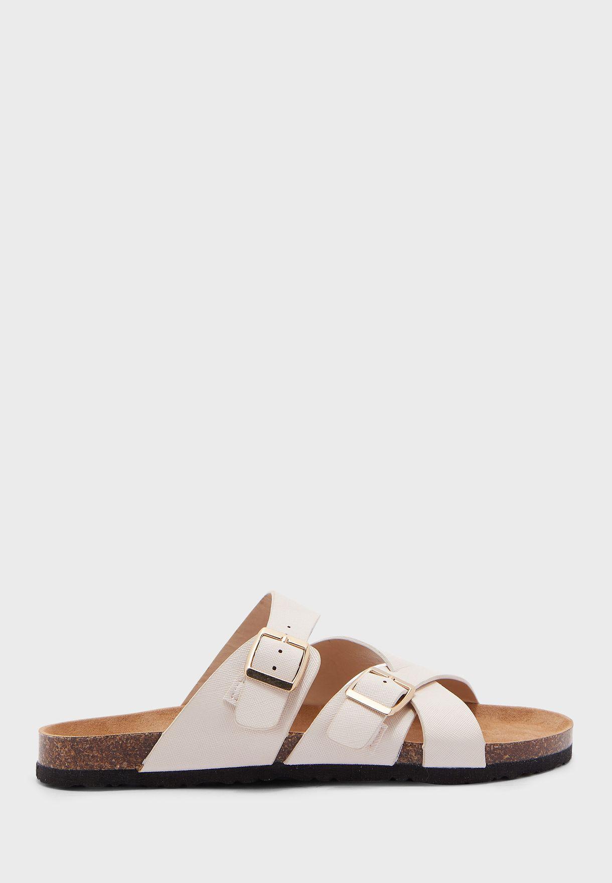 Wide Fit Faye Wedge Sandal