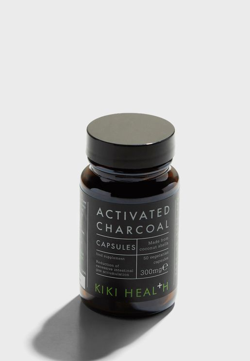Activated Charcoal Capsules 50caps