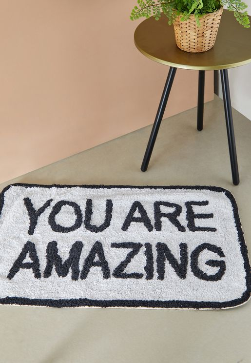 You Are Amazing Floor Matt