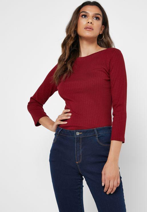 Organic 3/4 Sleeve T-Shirt