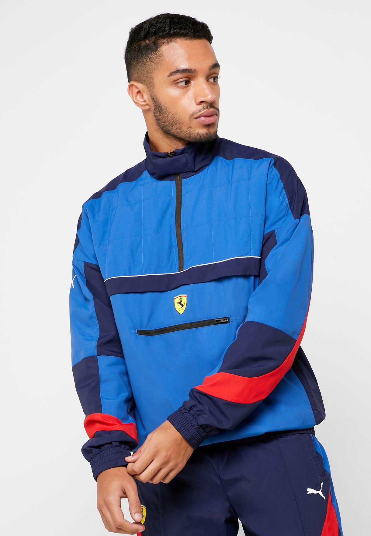 Buy Puma Blue Ferrari Street Jacket For Men In Mena Worldwide 59555006